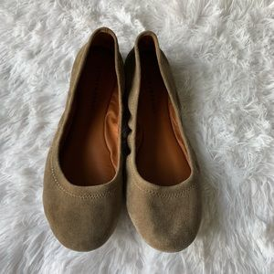 Lucky Brand Suede Flats Size 10